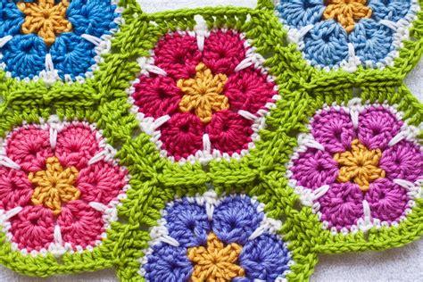crochet pattern african flower african flower