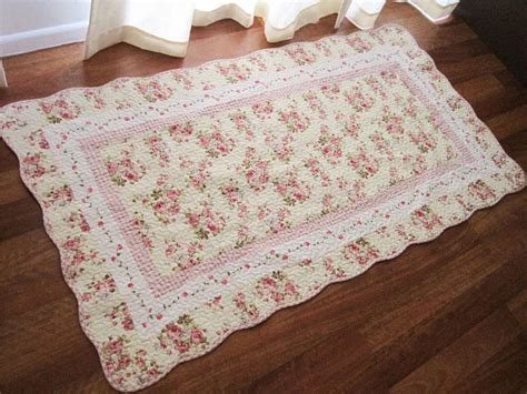 quilted rug shabby patch cotton quilted mat rug floor runner l ebay