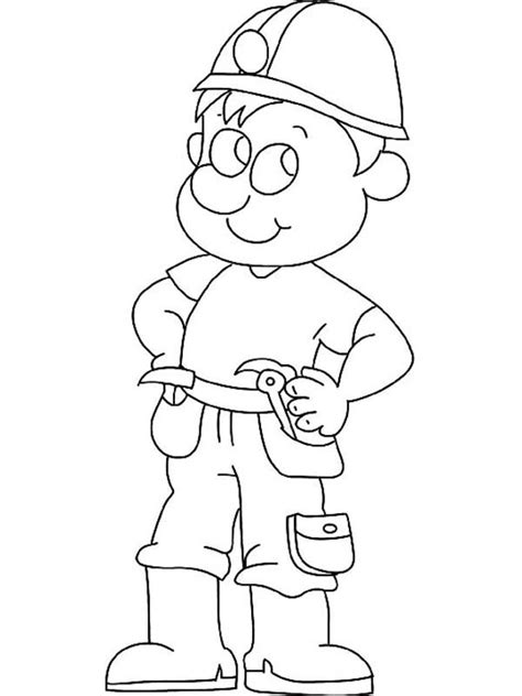 Construction Worker Coloring Page Free Coloring Pages Of Burning Sun by Construction Worker Coloring Page
