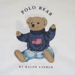 Fitted Bed Sheet Vintage Ralph Lauren Preppy Patriotic Polo Bear Pillow Case