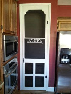 1000  images about Screen door pantries on Pinterest
