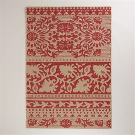 World Market Outdoor Rugs 5 X7 Ban Thai Indoor Outdoor Rug World Market