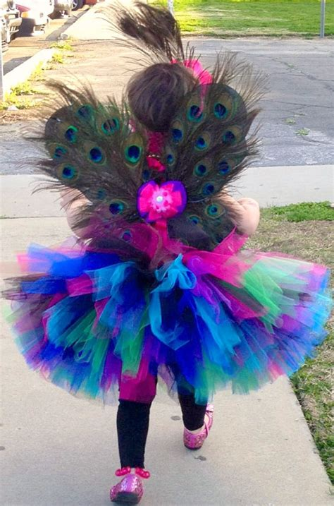Set Tutu Setelan Tutu Anak peacock birthday tutu set peacock birthday tutu