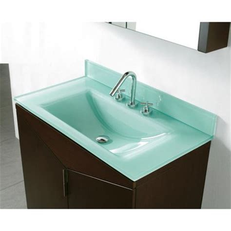 Tempered Glass Countertop by Madeli Ts9 36 010 3 P Eg Sorrento Tempered Glass