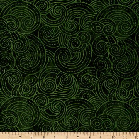 Green Quilt Fabric essential dotty waves 108 quot wide quilt back green