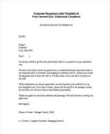 Complaint Letter Food Quality Responding To A Customer Compliment Letter Sle Docoments Ojazlink