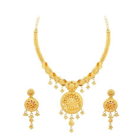 flower design gold necklace necklaces round shape with centered flower design gold