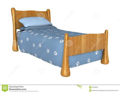childs futon childs bed stock illustration image of childrens white