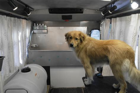 mobile groomer mobile grooming truck 2 houston tx