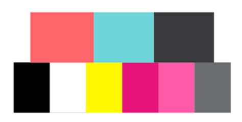 1980s colors 80s patterns color schemes theme concept 80 s retro