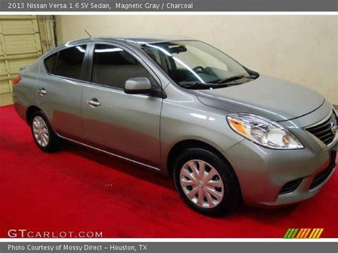 nissan versa interior 2013 magnetic gray 2013 nissan versa 1 6 sv sedan charcoal