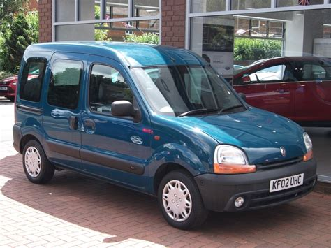 2002 Renault Kangoo Photos Informations Articles