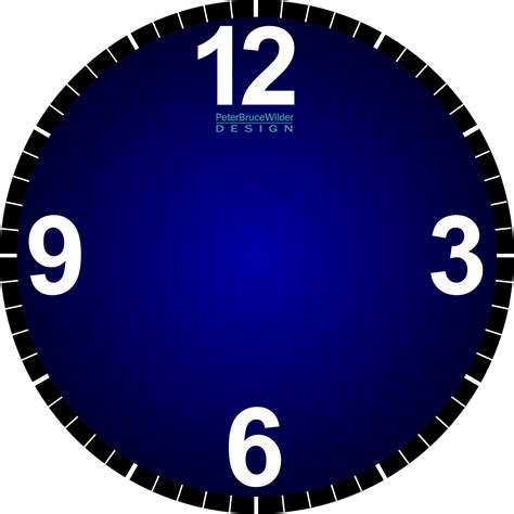 best photos of cool clock faces cool clock face printable analog clock face clipart best