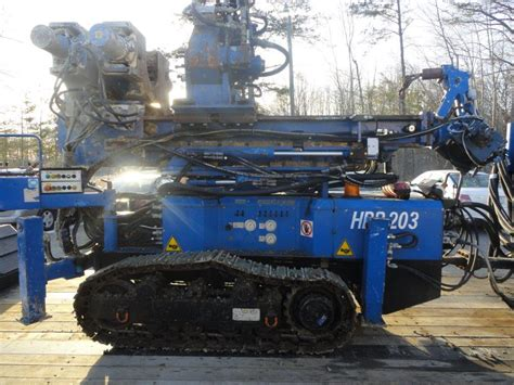 Hutte 203 Piling Rig by 2011 Hutte Hbr 203 Limited Access Rig With Electric Power