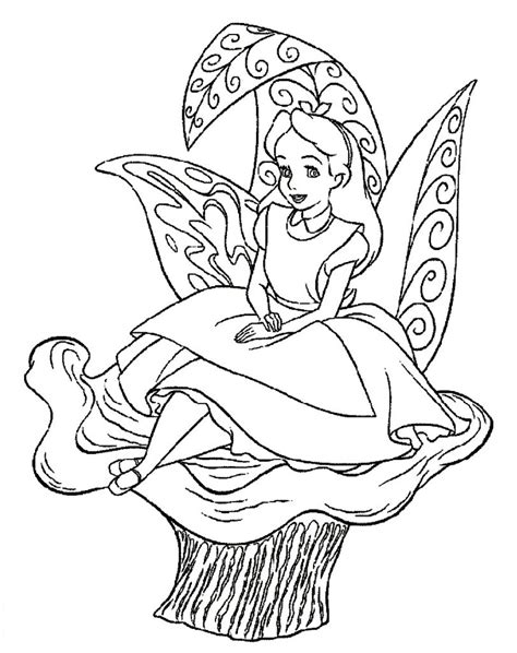 printable pictures alice in wonderland free printable alice in wonderland coloring pages for kids