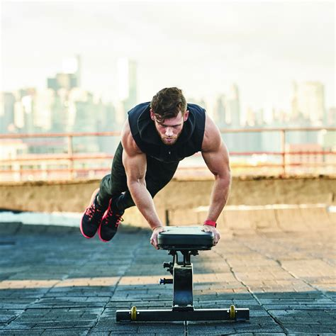 bench hop how to properly execute a bench hop muscle fitness