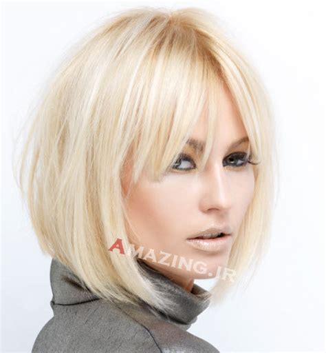 new hair model 2014 مدل مو نیمه کوتاه دخترانه برای موی تیره و روشن