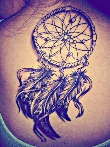 dream catcher leg tattoo tumblr joli tattoo capteur de r 234 ve sur le dos tatouage attrape