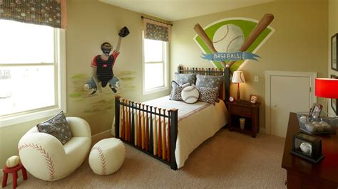 Baseball Room Decor Model Homes Traditional By Shea Homes