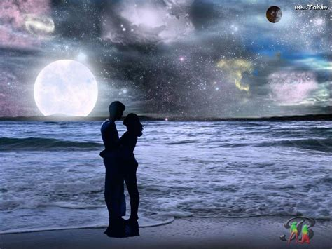good night couple wallpaper hd wallpapers love kiss wallpaper cave