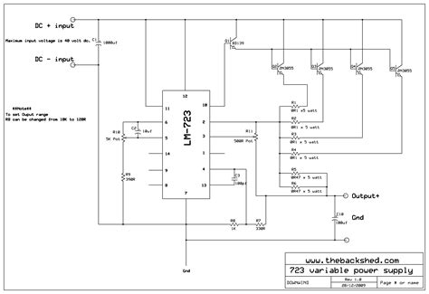 variable bench power supply circuit variable bench power supply schematic free download wiring diagram schematic