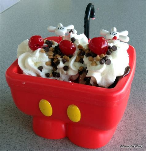 Disney Kitchen Sink New Mickey Kitchen Sink Sundae Aka The Mickey Sundae In Walt Disney World The Disney