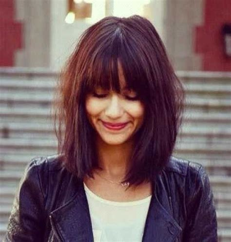 cute shoulder length haircuts longer in front and shorter in back 25 best ideas about cute shoulder length haircuts on pinterest cute haircuts shoulder length