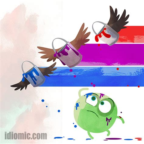 pass with flying colors with flying colours illustrated at idiomic