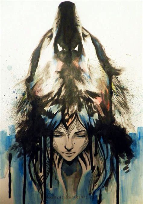 wolf watercolor tattoo beautiful wolf tattoos