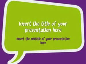 speech powerpoint template speech bubbles free template for powerpoint and impress