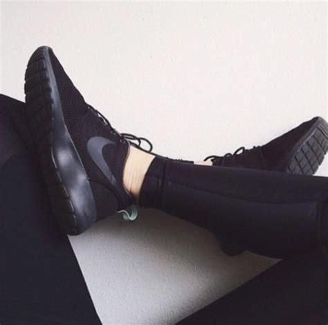 matte black shoes shoes sneakers nike nike shoes sports