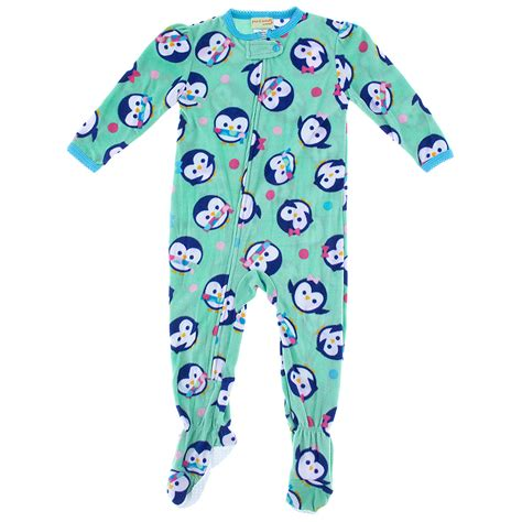 toddler footed pajamas green penguin footed pajamas for toddler