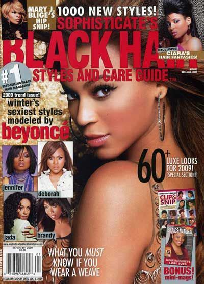 cover of short hair style guide magazine black hair styles and care guide magazine short