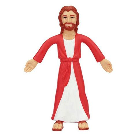 figure jesus jesus of nazareth bendable figure nj croce historical