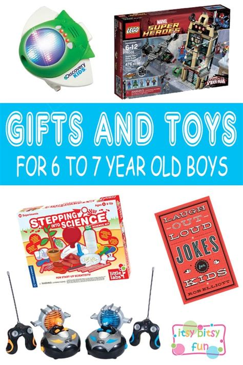 what to get a 7 year old boy for christmas best gifts for 6 year boys in 2017 itsy bitsy
