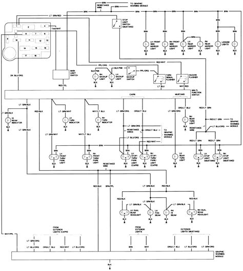 1983 ford mustang gt coil wiring diagram get free image