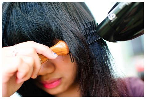 blow drying layered hair for fullness how to blow dry layered hair 5 steps wikihow