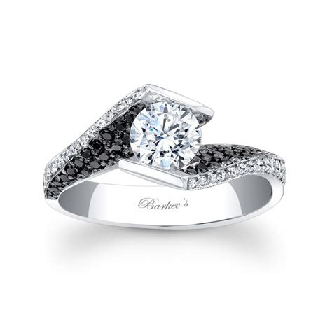 Black Engagement Rings by Barkev S Black Engagement Ring 7879lbk