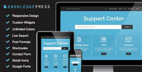 free wordpress knowledge base theme responsive knowledge base faq wordpress theme the best