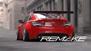 Frs Lights Remake Hyundai Genesis Coupe Wide Body Kit By Kei Miura
