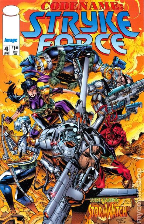 codename strykeforce  image comic books