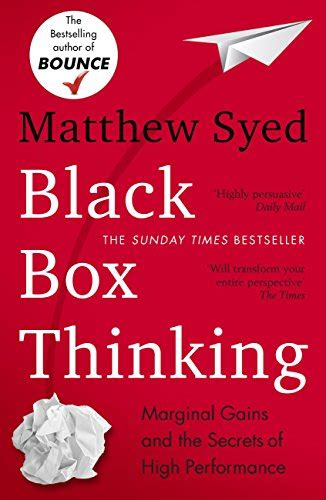 black box thinking the surprising truth about success amazon co uk matthew syed
