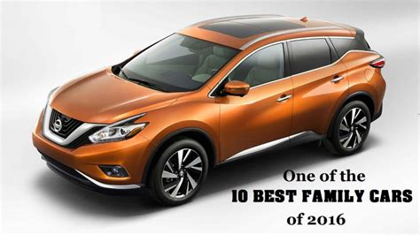 nissan family car nissan murano recognized as a top family car choice