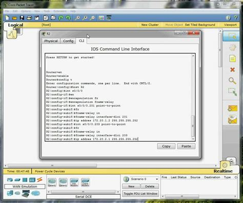 cisco packet tracer frame relay tutorial frame relay packet tracer easy peasy youtube