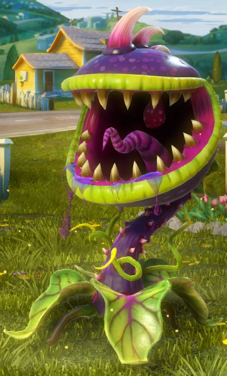 chomper plants  zombies garden warfare plants