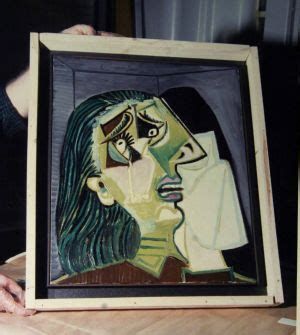 picasso paintings returned picasso s weeping could mystery of 1986 ngv