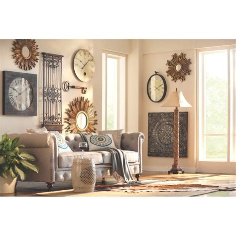 home depot wall decor home decorators collection amaryllis 36 in square metal