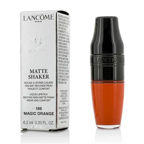 matte shaker liquid lipstick 186 magic orange