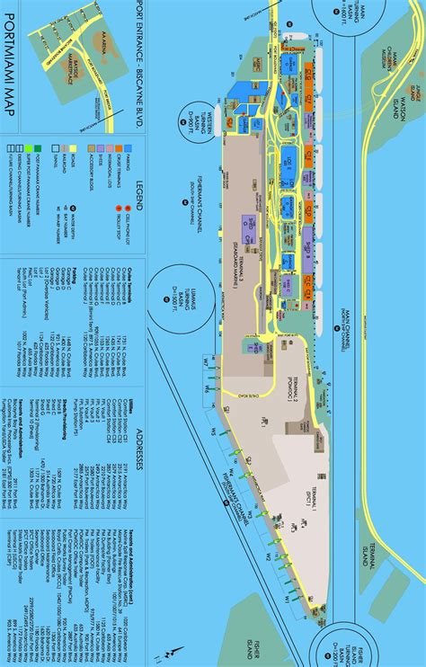 miami port miami florida cruise ship schedule cruisemapper