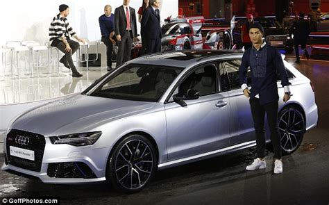 Ronaldo Audi real madrid beat barcelona in battle of the audis as